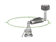 Telescoping ballbar systems are used to check the contouring accuracy of CNC machinery