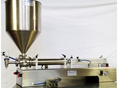 Rentafill RV-3 single cylinder volumetric filling machine