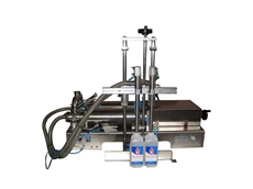 Twin Cylinder Volumetric Filling Machine
