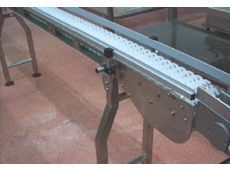 MODU D Series modular conveyors are manufactured from stainless steel