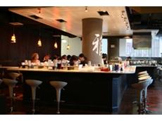 Miyabi Restaurant featuring Modu Stainless Steel Sushi Conveyor