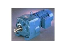 S3 inline helical gear unit.