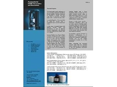 Brochure on standard liquids from Thermo Fisher Scientific