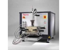 The Thermo Scientific HAAKE PolyLab QC modular torque rheometer with the HAAKE CTW 100 QC twin-screw extruder
