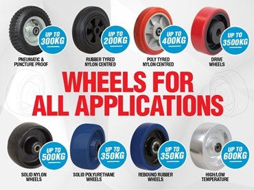 Wheels for all applications