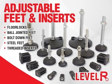 Adjustable Feet & Inserts