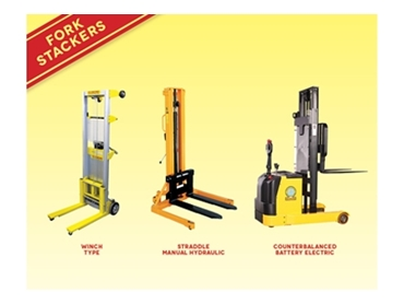 Fork Stackers for safe and efficient lifting