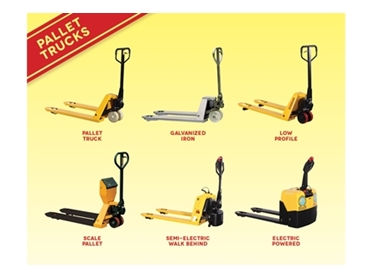 High Performing Pallet Trucks from Richmond Wheels and Castors