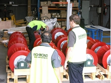 Pipe Rollers Made Using Polyurethane Moulding Tools
