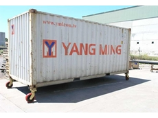 Richmond offers castors for shipping containers