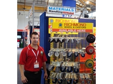 Richmond wheels & castors at The Safety Show