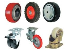 A variety of wheels and castors is available from Richmond.