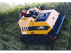 RoboFlail One remote control slope mower