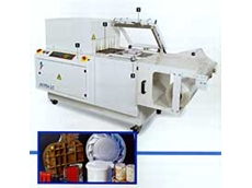 "Astra LC Heavy Duty Compact ""L"" Bar Sealer and Shrink Tunnels from Robotic Automation"