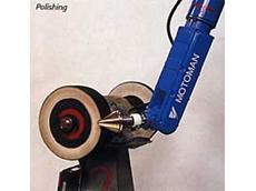 Motoman Robots  from Robotic Automation used for polishing