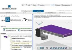 Robotunits CAD modelling portal