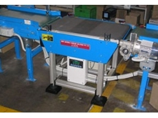 Checkweigher utilising a Robotunits conveyor and stand