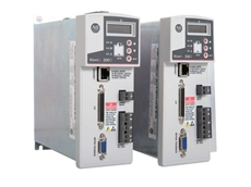 The Allen-Bradley Kinetix 350 single-axis servo drive provides motion scalability