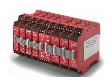 The modular MSR300 safety relay system.