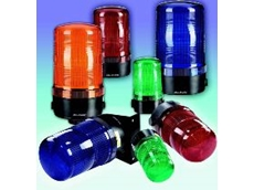 The beacons are available in red, green, amber, blue, clear and yellow.