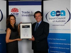 Auto-Bake is Highly Commended for manufacturing excellence at the Premier's NSW Export Awards