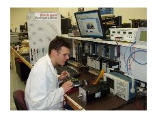 Rockwell Automation's electronics technician, Heath Clemson, servicing and supporting all ac, dc and servo motors.