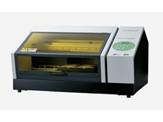 Users can print on almost any surface with VersaUV LEF-12 UV-LED desktop inkjet printers