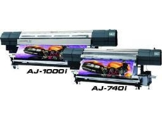 New AdvancedJET i series printers featuring Roland intelligent pass control and EcoXtreme i Ink