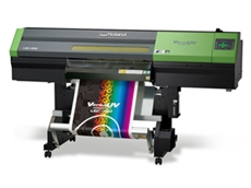 The LEC-330 inkjet printer/cutter from Roland DG Australia
