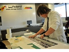 Roland DG has supplied printing machinery to the Catholic Regional College Sydenham, Trade Traing Centre