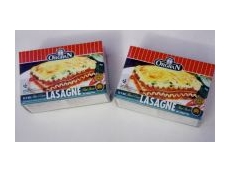 The new 200 gram pack of Orgran Rice & Corn Mini Lasagne Sheets.