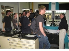 Gordon and Melbourne University Students in Ronson's temperature controlled gear measuring facility