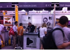 Ronson Gears booth at MineExpo International 2012