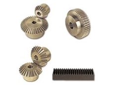Spur gears and a rack from Ronson Gears.
