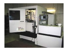 The Fanuc CNC wire cutting machine.