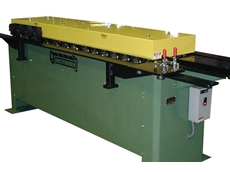 14 Station duct line TDFC rollformer available from Ross Jenkins Machinery Services