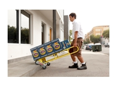Rotatruck Self Supporting Hand Truck
