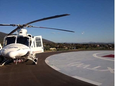 The new helipad is better positioned to provide quick access to transport patients for urgent treatment