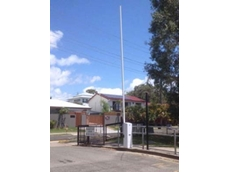 Boom gate at the Mooloolaba State School