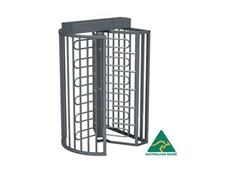 Rotech's TriStar F21 full height turnstiles securing properties