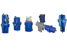 Process control actuators for the control of flow and pressure
