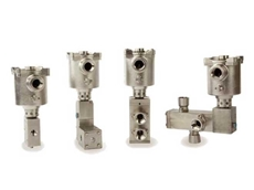 Solenoid valves with the free-to-rotate housing design