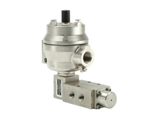 Exd pilot solenoid operated spring return spool valves are among the many Rotork Midland control products now available from Rotork Instruments