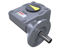 The new AB550M gearbox from Rotork Gears is designed for use with motorised quarter-turn valves and dampers