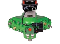 Rotork K-TORK with integral switchbox and solenoid