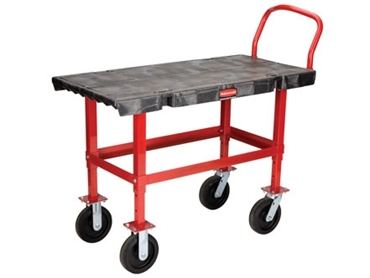 Height adjustable for safer work practices and operations