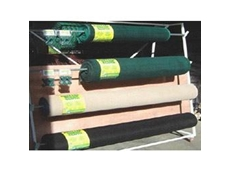Shadecloths and shade sails are available in beige, green and black