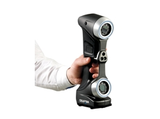 Creaform's new portable 3D handheld scanner