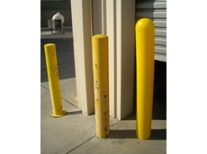 AMtex safety bollard sleeves