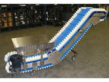 Cog-Veyor Sprocket Driven Hygienic Conveyor Belting